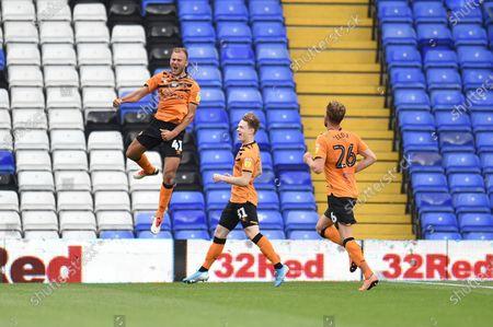 Herbie Kane celebrates scoring Hull City's 3rd goal.