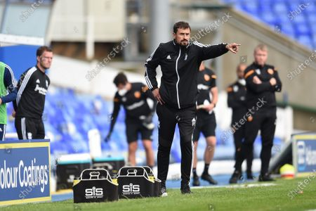 Pep Clotet manager of Birmingham City reacts.