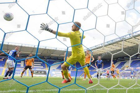 Gary Gardner of Birmingham City scores a goal to make it 3-3.