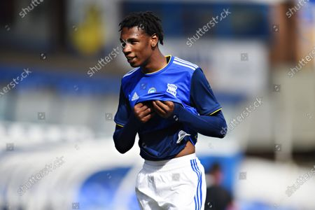 Nico Gordon of Birmingham City.