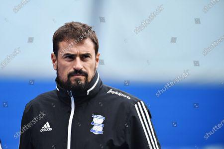 Pep Clotet manager of Birmingham City.