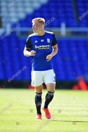 Kristian Pedersen of Birmingham City.