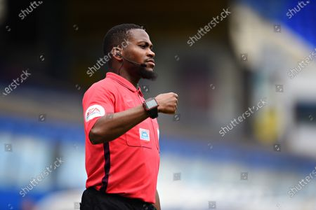 Assistant referee Akil Howson.