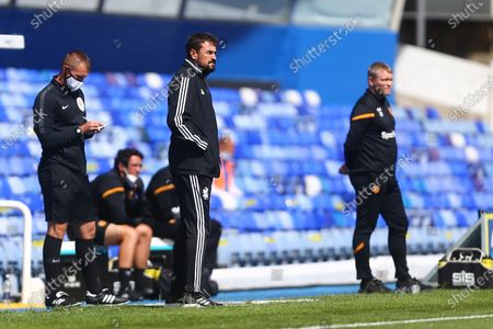 Pep Clotet, manager of Birmingham City and Hull's manager, Grant McCann