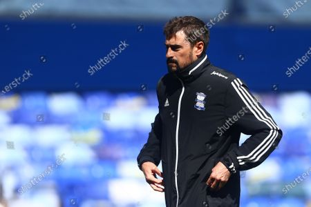 Pep Clotet, manager of Birmingham City dejected