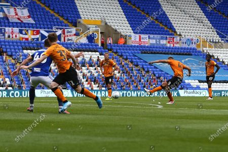 Hull's Herbie Kane scores his sides third goal
