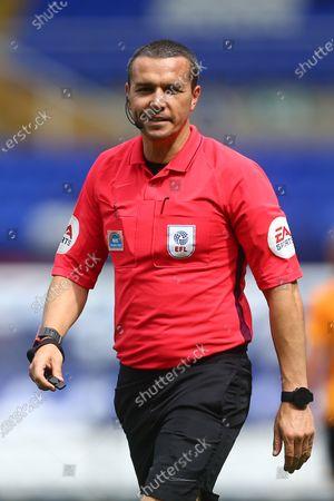 EFL referee Dean Whitestone
