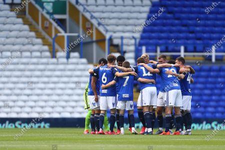 Birmingham team huddle