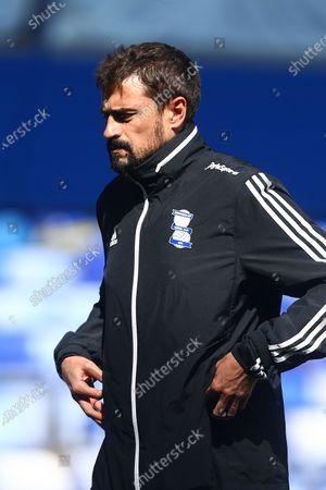 Pep Clotet, manager of Birmingham City