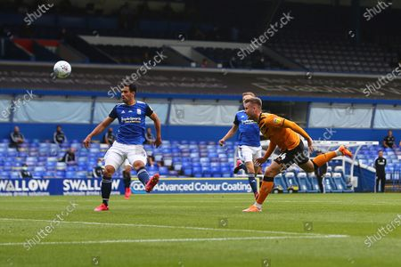Hull's James Scott scores his sides second goal