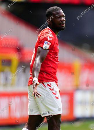 Adedeji Oshilaja of Charlton Athletic