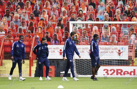 QPR players arrive