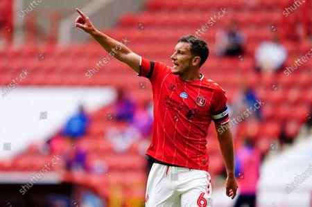 Jason Pearce of Charlton Athletic