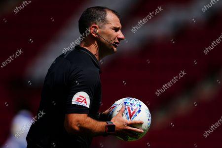 Stock Photo of Referee Tim Robinson