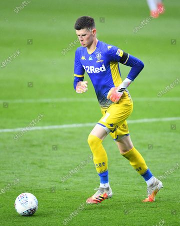 Illan Meslier goalkeeper of Leeds United