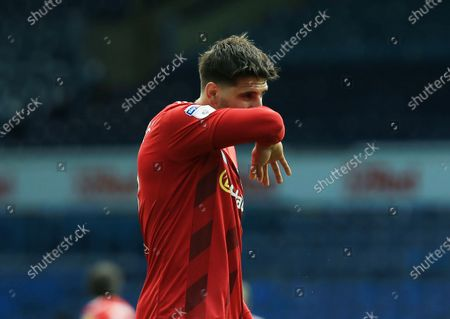 Aleksander Mitrovic of Fulham looks dejected