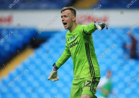 Fulham goalkeeper Marek Rodak