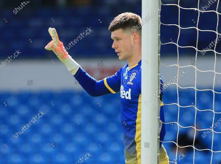 Leeds United goalkeeper Illan Meslier