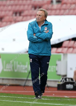 Middlesbrough Manager, Neil Warnock