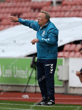 Editorial photo of Stoke City v Middlesbrough, Sky Bet Championship, Football, Britannia Stadium, Stoke, UK - 27 Jun 2020