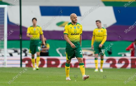 Teemu Pukki of Norwich City looks dejected
