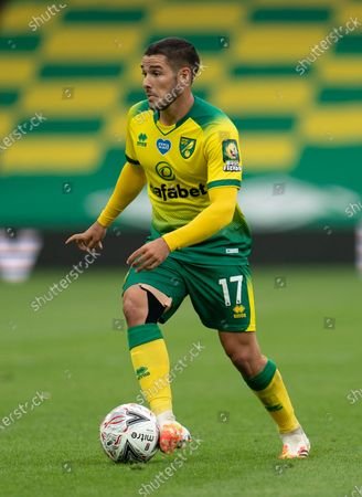 Stock Picture of Emiliano Buendia of Norwich City
