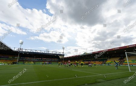 Editorial picture of Norwich City v Manchester United, The Emirates FA Cup Sixth Round, Football, Carrow Road, Norwich, UK - 27 Jun 2020