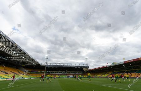 Editorial image of Norwich City v Manchester United, The Emirates FA Cup Sixth Round, Football, Carrow Road, Norwich, UK - 27 Jun 2020