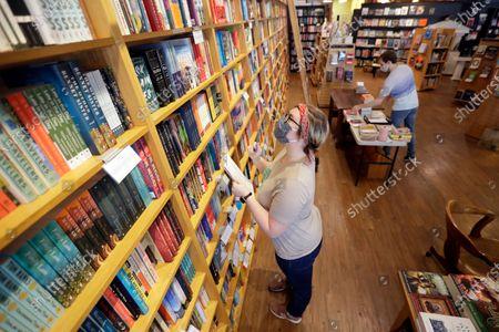 Editorial photo of Ann Patchett Bookstore, Nashville, United States - 25 Jun 2020