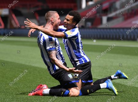 Editorial picture of Bristol City v Sheffield Wednesday, Sky Bet Championship, Football, Ashton Gate, Bristol, UK - 28 Jun 2020