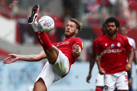 Stock Picture of Nathan Baker of Bristol City.