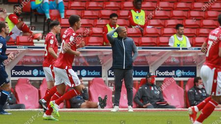 Sabri Lamouchi cuts a frustrated figure during a goalless first half at The City Ground.
