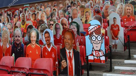 Where's Wally spotted at The City Ground