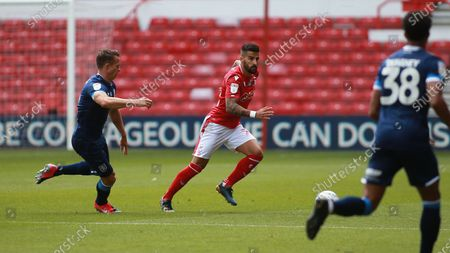 Tiago Silva in action during the EFL SkyBet Championship match between Nottingham Forest and Huddersfield Town.