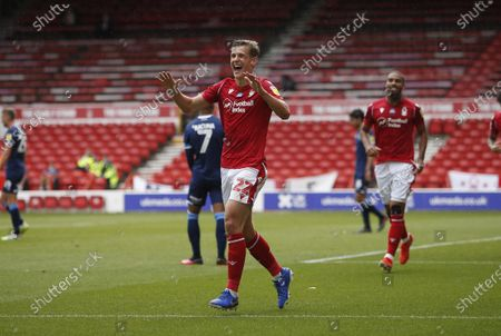 Nottingham Forest's Ryan Yates celebrates his goal