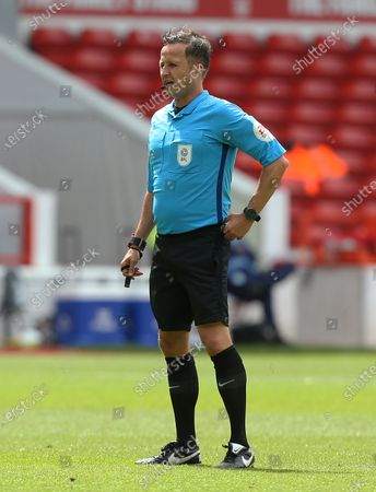 Editorial picture of Nottingham Forest v Huddersfield Town, Sky Bet Championship, Football, The City Ground, Nottingham, UK - 28 Jun 2020