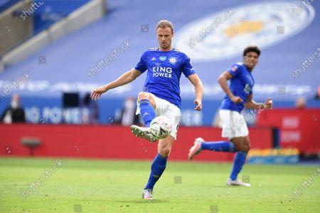 Jonny Evans of Leicester City.