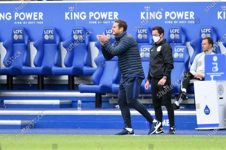 Frank Lampard manager of Chelsea.