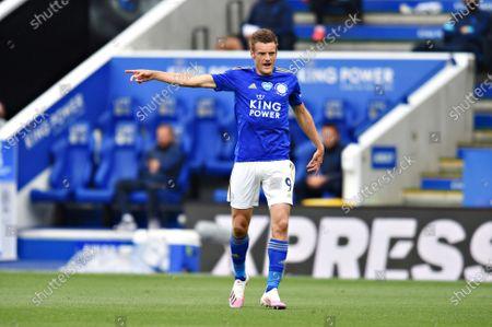 Jamie Vardy of Leicester City.