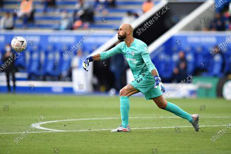 Goal Keeper Wilfredo Caballero of Chelsea.