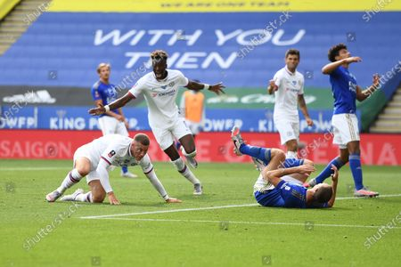 Ross Barkley of Chelsea celebrates his goal.