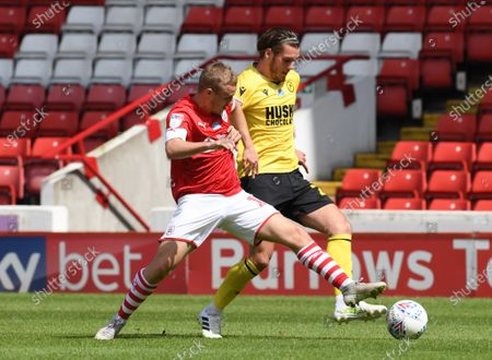 Barnsley's Luke Thomas.