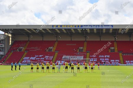 Editorial picture of Barnsley v Millwall, Sky Bet Championship, Football, Oakwell, Barnsley, UK - 27 Jun 2020