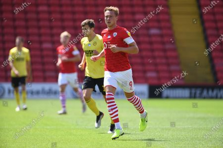 Barnsley's Cauley Woodrow.