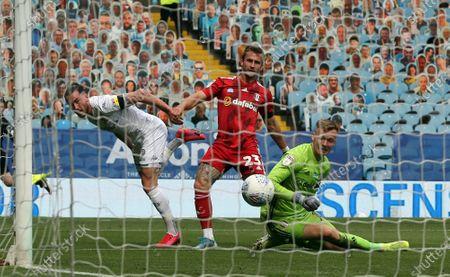 Jack Harrison scores Leeds third goal