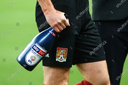 The Sky Bet sponsored match champagne