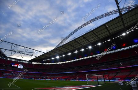 A general view of the Wembley arch