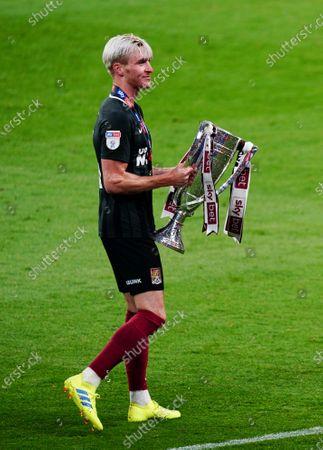 Ryan Watson of Northampton Town celebrates