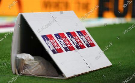 Sky Bet branded goal boards