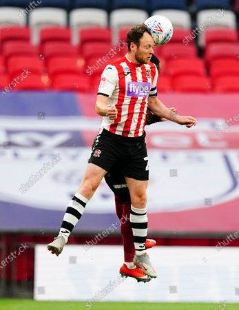 Jake Taylor of Exeter City